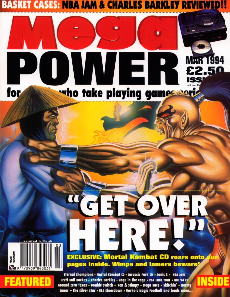 Mega Power 08 (March 1994)