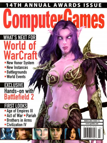 Computer Games Issue 172 (March 2005)