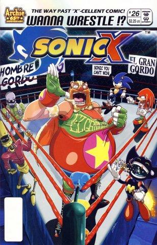 Sonic X 026 (December 2007)