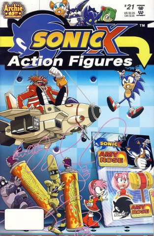 Sonic X 021 (August 2007)
