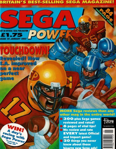 Sega Power Issue 26 (January 1992)