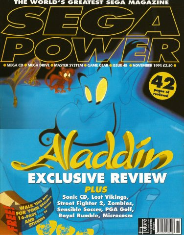 Sega Power Issue 48 (November 1993)