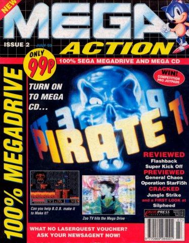 Mega Action 02 (July 1993)