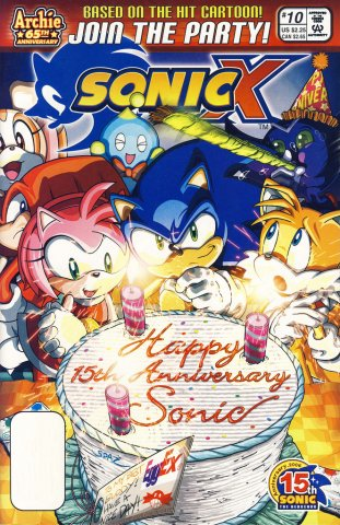 Sonic X 010 (August 2006)