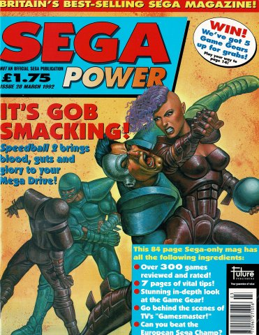 Sega Power Issue 28 (March 1992)