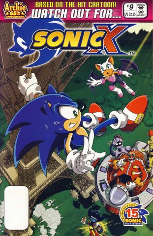 Sonic X 009 (July 2006)