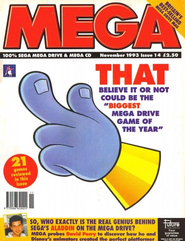 MEGA Issue 14 (November 1993)