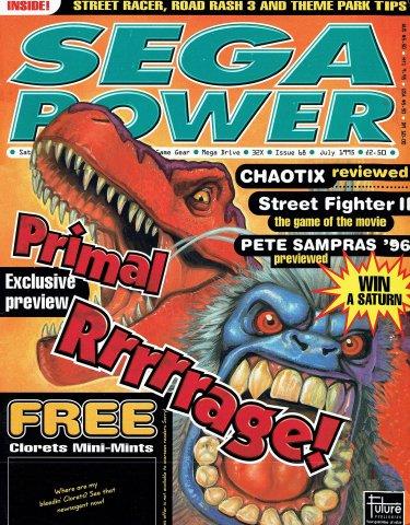 Sega Power Issue 68 (July 1995)