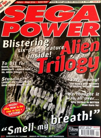 Sega Power Issue 82 (Collector's Issue 1996)