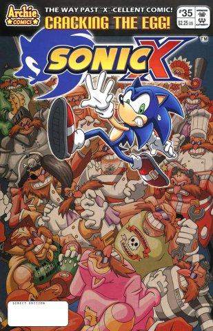 Sonic X 035 (September 2008)