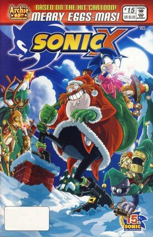 Sonic X 015 (February 2007)