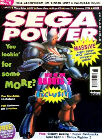 Sega Power Issue 74 (January 1996)