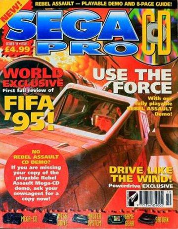 Sega Pro CD Issue 01 (October 1994)