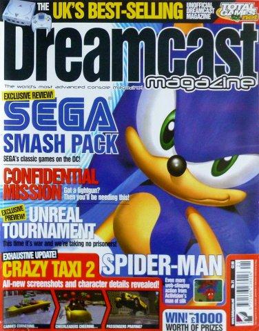 Dreamcast Magazine 21 (April 2001)