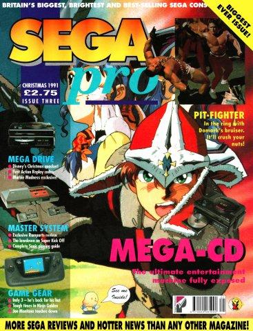 SEGA Pro 03 (Christmas 1991)