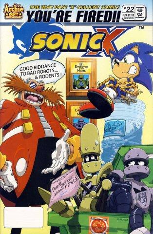 Sonic X 022 (September 2007)