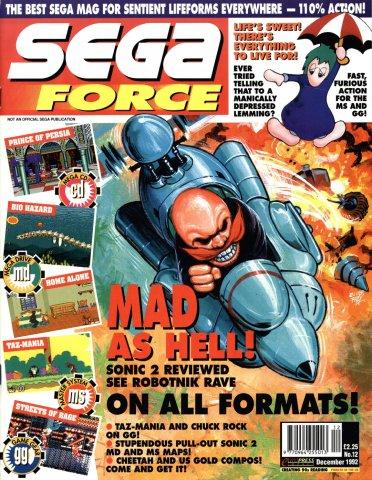 Sega Force 12 (December 1992)