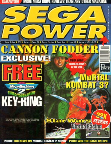 Sega Power Issue 62 (January 1995)