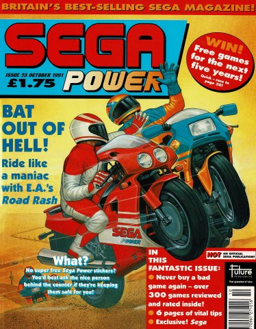 Sega Power Issue 23 (October 1991)