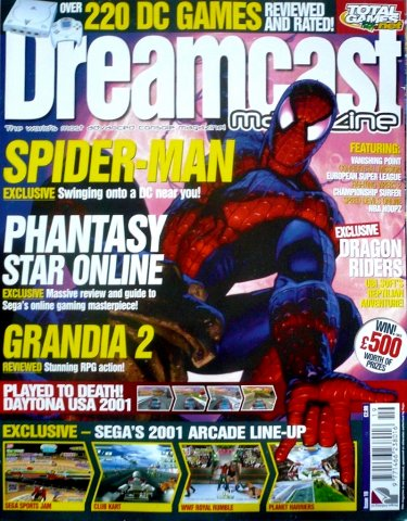 Dreamcast Magazine 19 (February 2001)