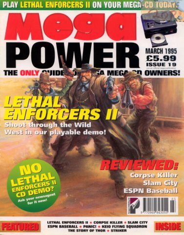 Mega Power 19 (March 1995)