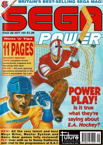 Sega Power Issue 22 (September 1991)