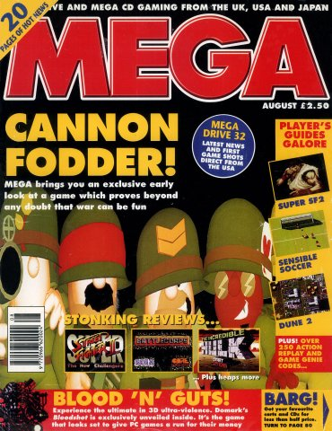 MEGA Issue 23 (August 1994)
