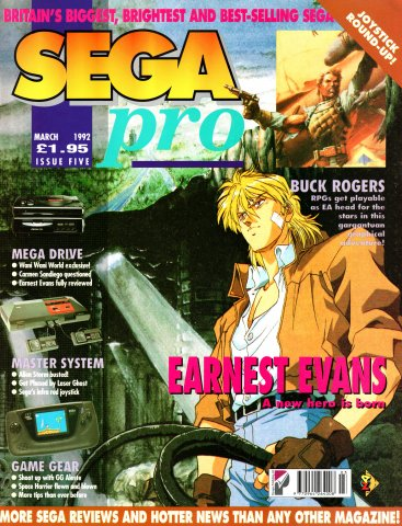 SEGA Pro 05 (March 1992)