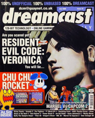 Dreamcast Monthly Issue 10 (July 2000)