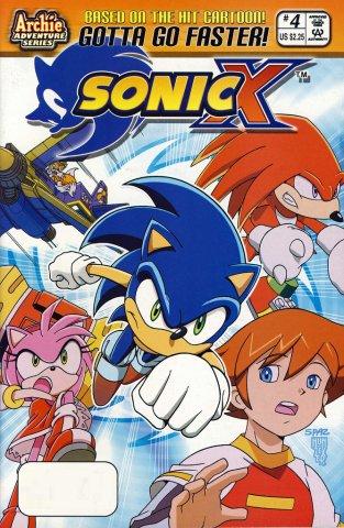 Sonic X 004 (February 2006)