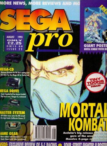 Sega Pro 22 (August 1993)