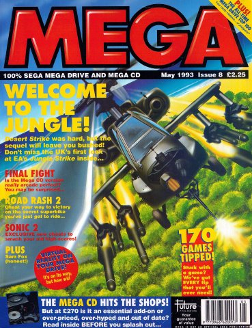 MEGA Issue 08 (May 1993)