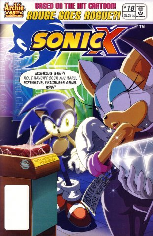 Sonic X 018 (May 2007)