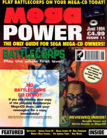 Mega Power 11 (June 1994)