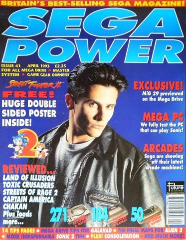 Sega Power Issue 41 (April 1993)