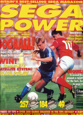 Sega Power Issue 40 (March 1993)