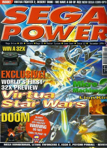 Sega Power Issue 61 (December 1994)