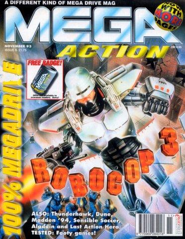 Mega Action 06 (November 1993)