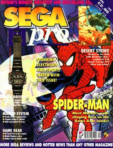 SEGA Pro 06 (April 1992)