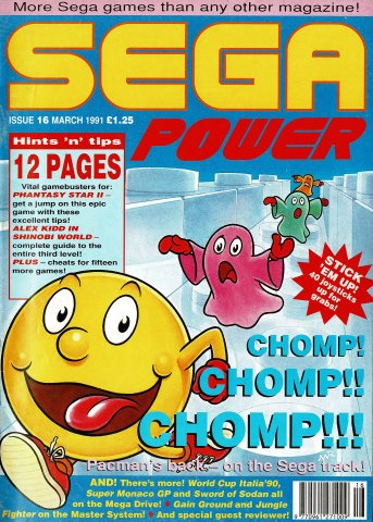 Sega Power Issue 16 (March 1991)