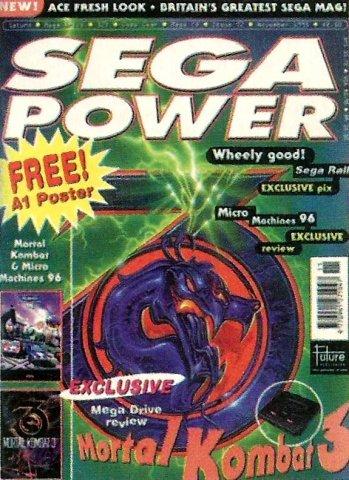 Sega Power Issue 72 (November 1995)