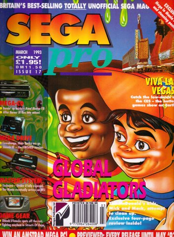 Sega Pro 17 (March 1993)