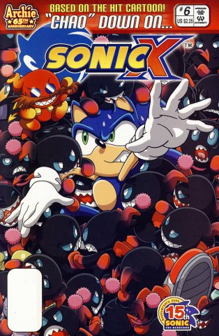 Sonic X 006 (May 2006)
