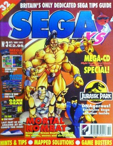 Sega XS Issue 03 (October/November 1993)