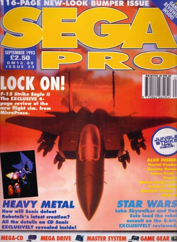Sega Pro 23 (September 1993)