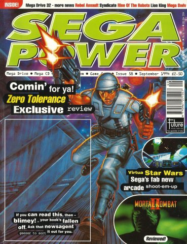 Sega Power Issue 58 (September 1994)