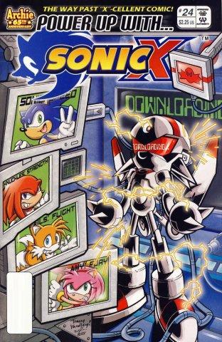 Sonic X 024 (October 2007)