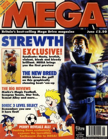 MEGA Issue 21 (June 1994)