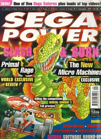 Sega Power Issue 70 (September 1995)