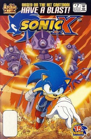 Sonic X 007 (June 2006)